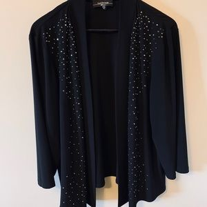Open front / Cardigan/ with BLING